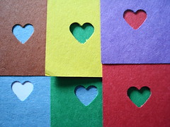 CORAZONES DE COLORES (Gioser_Chivas) Tags: red color hearts heart colores redheart corazon corazones blueheart greenheart colourartaward corazonesdecolores