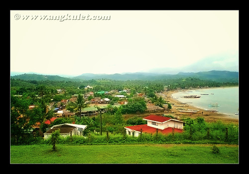 The town of Garchitorena, Camarines Sur