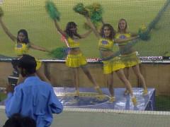 IPL -- Cherleaders of Rajasthan Royals