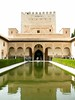 Reflections of Alhambra (Whiskers and Whispers (The Future is Feline)) Tags: reflection water beautiful pond spain columns palace andalucia arabic alhambra moorish granada magical splendid marvellous