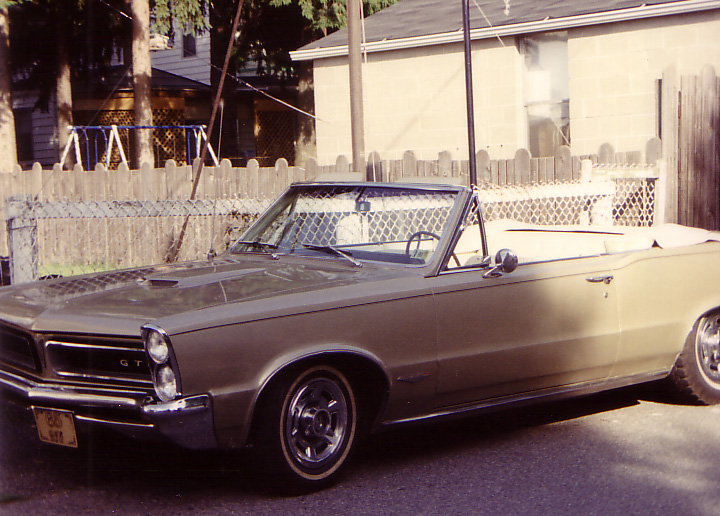 My Dad's 1965 GTO Convertible