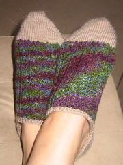 Adrianne's rib socks