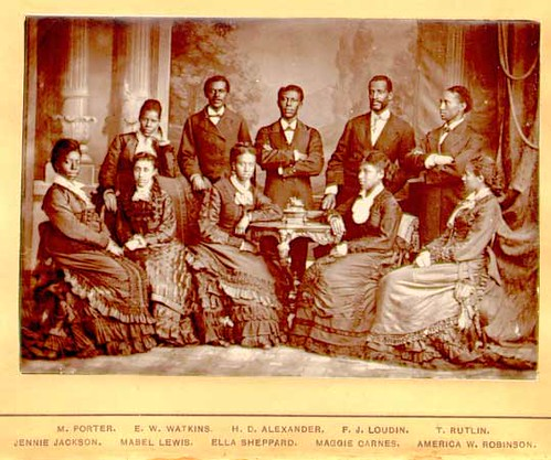 The legendary Fisk Jubilee Singers who toured the United States and the world during the late 19th century. June is Black Music Month. by Pan-African News Wire File Photos