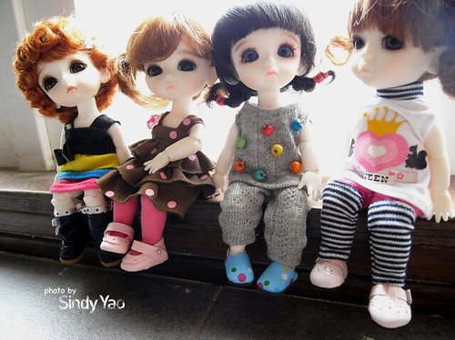 my LATI yellow dolls ^^