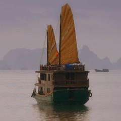 CHINESE JUNK ON HA LONG BAY, VIETNAM (Butch Osborne) Tags: travel beautiful lumix boat fantastic paradise sailing ship fotografie superb explorer digitale best vietnam national elite dreamy traveling lovely dreamlike lifeisgood geographic dmc halongbay chinesejunk puravida mustsee fz50 vitnam  supershot hni thegalaxy 5photosaday golddragon vnhhlong anawesomeshot  diamondclassphotographer flickrdiamond overseasadventuretravel theunforgettablepictures cnghaxhichnghavitnam bucketlist spiritofphotography rubyphotographer qualitypixels 100commentgroup saariysqualitypictures fccwinner mygearandmepremium