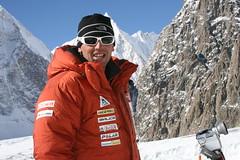 Simone Moro - Broad Peak Winter Expedition 2008 (manfrotto tripods) Tags: mountain tripod extreme climbing climber tripods himalaya mountaineer manfrotto alpinism alpinist simonemoro