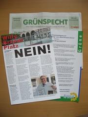 Werbematerial zum Bochumer Bürgerentscheid II