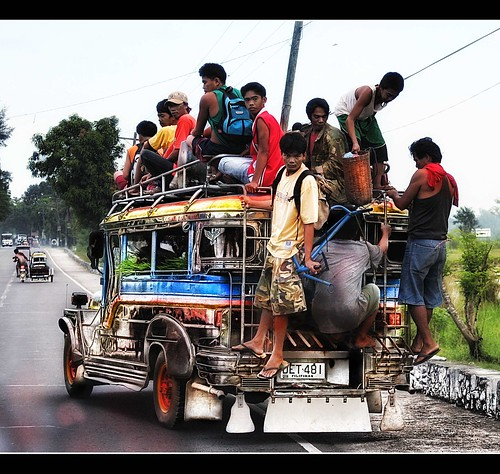 My first image to be included in an exhibit at Rockwell Center Makati, Philippines... Philippine Jeepney!
