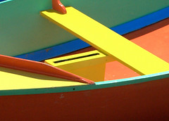 Colorful Sailing Dinghy (M. Waller) Tags: seattle color pacificnorthwest lakeunion dinghy centerforwoodenboats