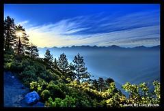Eagle View (f2matrix) Tags: morning trees fog nationalpark haze sequoia hdr sequoianationalpark highsierra bearpaw highsierratrail westerndivide eagleveiw bearpawtrail f2matrix