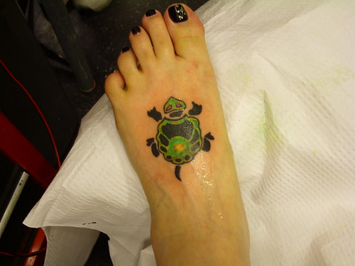 My new turtle tattoo