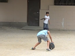 [300fps video] CIMG6933.part2 (pinboke_planet) Tags: kids video baseball casio softball 2008 kakogawa 300fps exf1