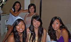 Elen, Kristen, Carla, Allison and Traci