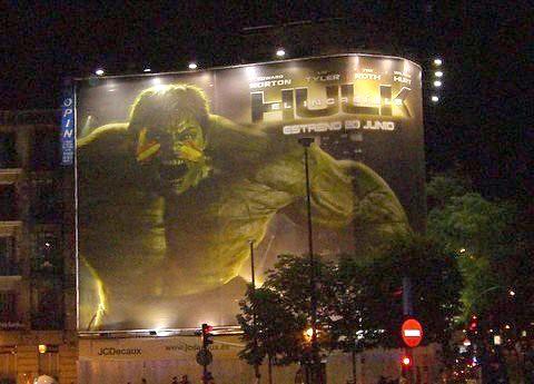 Hulk y su furia
