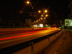 DSC09262 (super_matli) Tags: street city light cars night speed lights moving strada bucharest bucuresti masini lumina noapte lumini oras miscare sosea viteza