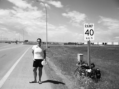 Way to go to Edmonton (joadc) Tags: river athabasca