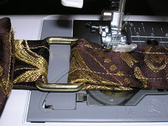 Making a messenger bag with a tablerunner (14)
