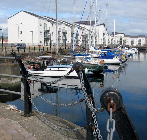 Ardrossan harbour