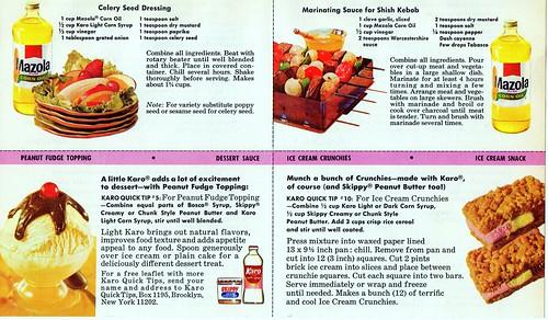 Vintage dish advertising recipe cards 1968 advertising recipe cards 1968 originally uploaded by vintage dish forumfinder Gallery