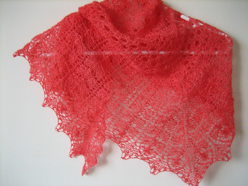 Three cornered shawl