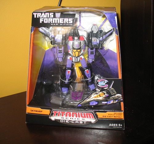 "6"" Titanium Skywarp (San Diego Comic-Con 2008 Exclusive)"