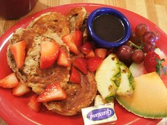 French toast and fruit