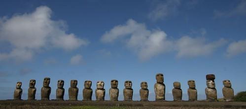 Tongariki, Rapa Nui
