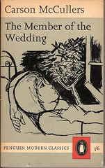 The Member of the Wedding - Penguin book cover (Covers etc) Tags: fiction modern book design literature paperback cover classics bookcover 1960s pengin