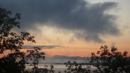 dawn over Lake Champlain