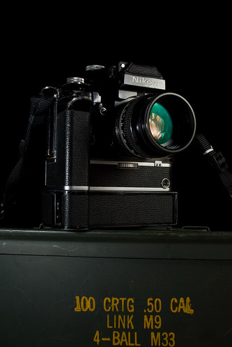 Nikon F2A with MD-2 motordrive