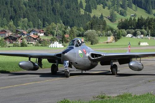 Warbird picture - De Havilland DH-100 Vampire