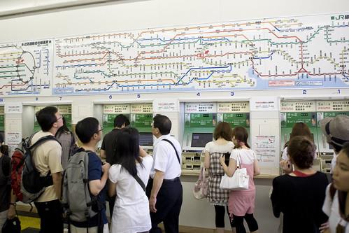 Toyko Day 2 — Train Ride — 1