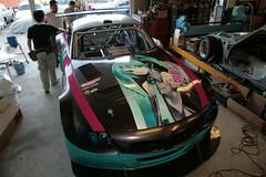 080818(3) - 史上第一輛參加『SUPER GT 日本超級房車賽』的BMW Z4 M Coupe MotorSport Version「初音ミク」痛車,今天正式亮相