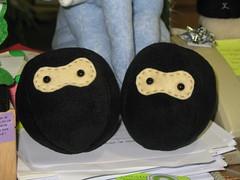 Ninja Fluff-balls!