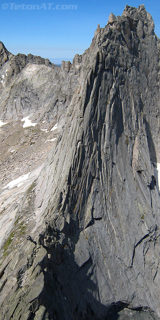 East Ridge of Wolf's Head in the Cirque of the Towers