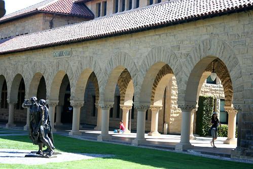 Rodin in Memorial Court