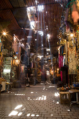 Sunbeam in Marrakesh Souk (cpc_output) Tags: africa urban sunlight ma market interior north indoor exotic busy morocco covered marrakech souk inside marrakesh sunbeam souq mywinners