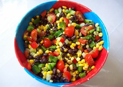 Vegan Black Bean Corn Salad (sharon-lizette) Tags: black salad vegan corn bean