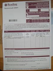 Electoral Audit
