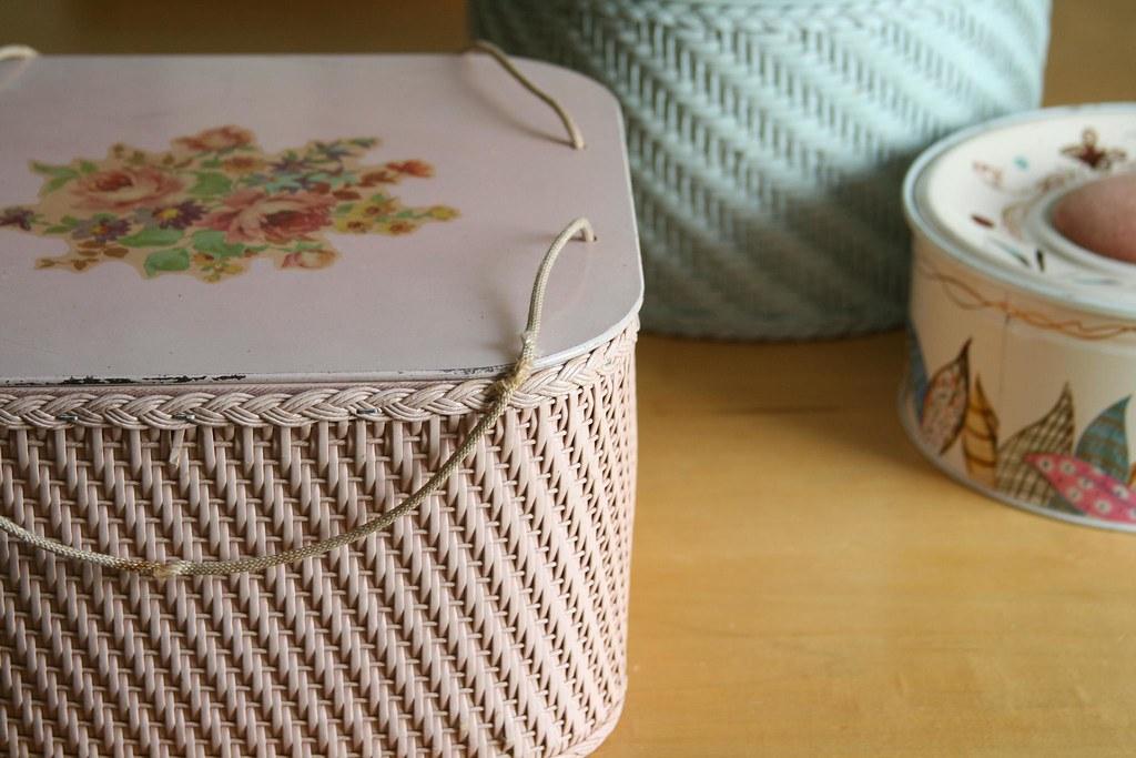 Great-Grandma's sewing basket
