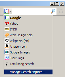 Keyword searches as a Web command line | s-anand net