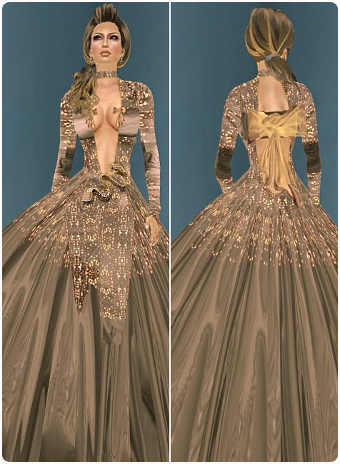 Wickedly Sensual Ball Gowns In Three Parts Part 2 Mad Image