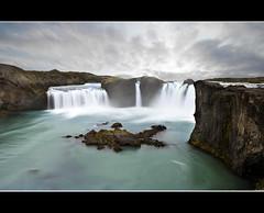 Godafoss- Iceland (N) Tags: longexposure water ro waterfall iceland islandia agua gullfoss no noe cascada godafoss n noevlad noeliamagnusson wwwnoeliamagnussoncomnnoemagnusson nmagnusson