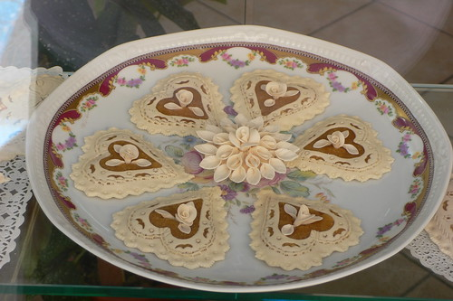 Decorative biscuits in a bakery in Nuoro
