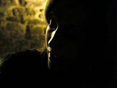 a woman's look before giving a kiss (shoraja) Tags: life people face look donna kiss heaven photos free before lo sguardo un giving di una dare emotional prima viso bacio controluce refelctions ragazza womans scuro profilo unicolored piscture