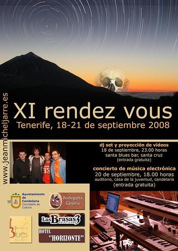 Cartel Oficial de la Rendez Vous en Tenerife