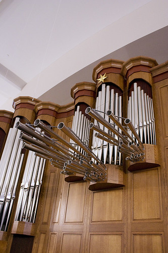 TRUMPETS AND ZIMBELSTERN, PIPE ORGAN, TRINITY KLEIN LUTHERAN, SPRING, TX 2008