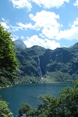 Lac d'Oo - cascade