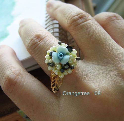 pastel ring handshot