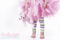 Leg Warmers 013watermarked (HeatherLynn Photography) Tags: lighting pink cute girl studio fun colorful dress princess girly leg young skirt wear explore warmers tulle tutu knotty